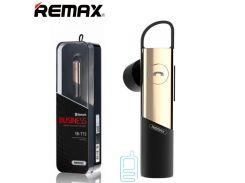 Bluetooth гарнитура Remax RB-T15 золотистая