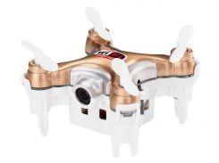 Квадрокоптер нано р/у Cheerson CX-10WD-TX с камерой Wi-Fi (бежевый)