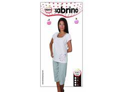 Sabrina m012569 пижама с капрями (цвет сиреневый) sab 51377 m, s, l, xl m, s, l, xl