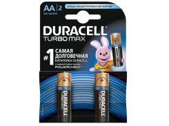 Duracell Батарейка Turbo Max AA/LR06 BL 2шт