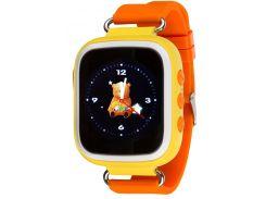 """Atrix  Умные часы Atrix iQ200 GPS Yellow; 0,96"""" (128x64) LCD / MediaTek MTK6261D / 32 МБ оперативной памяти / 32 МБ встроенной / Bluetooth / ОС Другое"""