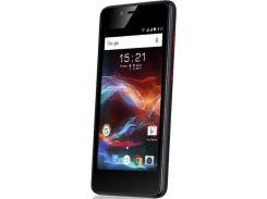 """смартфон fly fs408 stratus 8 dual sim black; 4"""" (854х480) tn / mediatek mt6570 / камера 2 мп / озу 512 мб / 8 гб встроенной + microsd до 32 гб / 3g"""