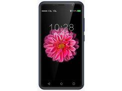 """смартфон nomi i5001 evo m3 go dual sim blue; 5"""" (854х480) ips / mediatek mt6580m / озу 1 гб / 8 гб встроенной + microsd до 32 гб / камера 5 мп + 0.3"""