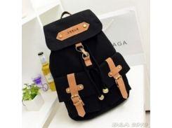 Рюкзак городской Retro Black (черный)