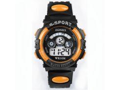 Часы детские наручные Yonix kids orange