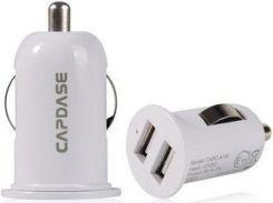 Автомобильное з/у Capdase Dual USB Car Charger Pico G2 White (1 A) (CA00-PG02)