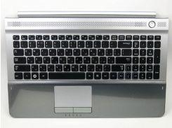 Клавиатура Samsung RC510, RC520, BA75-03029C ( RU Black в комплекте с Silver крышкой, динамиками и тачпадом) Оригинальная клавиатура.