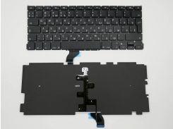 Клавиатура для ноутбука APPLE Macbook Pro A1502 (RU BLACK, Подсветка клавиш, Вертик. Enter ). ORIGINAL