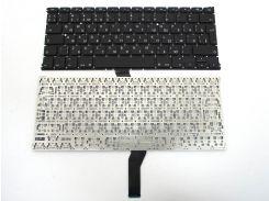 """Клавиатура для ноутбука APPLE Macbook Air A1369, A1466 (2011-2015) MC503, MC504 13.3"""" (RU BLACK Вертикальный Enter, под версию с подсветкой). ORIGINAL"""