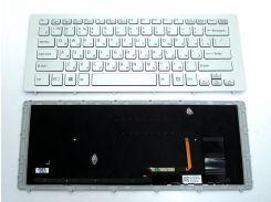 Клавиатура для ноутбука SONY SVF15N ( RU Silver с рамкой и подсветкой). Оригинальная клавиатура.