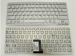 Клавиатура для ноутбука SONY VPC-CA Series ( RU Silver без рамки ) . Оригинальная клавиатура. Русская раскладка.