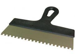 Шпатель зубчатый, 300мм, зубья 10х10 мм