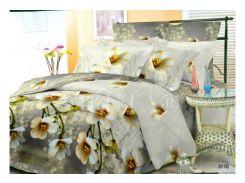 Комплект постельного белья Вилюта ранфорс Platinum полуторный 2021