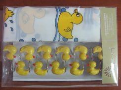 Занавеска для душа ARYA Baby Duck 180x180 см. 1353002