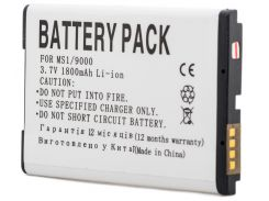 Аккумулятор PowerPlant Blackberry M-S1 (9000, 9700)