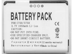 Аккумулятор PowerPlant HTC KIIO160 (C750, S750, T-Mobile Shadow)