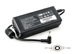 Блок питания для ноутбуков PowerPlant ASUS 220V, 45W: 19V 2.37A (3.0*1.1)