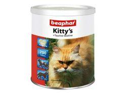 Beaphar (Беафар) Витаминизированное лакомство для кошек с таурином и биотином Kitty 750таб