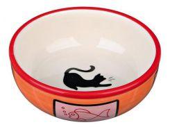 Trixie (Трикси) Миска керамическая для кошек 350мл*12,5см