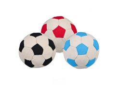 Trixie (Трикси) Игрушка для собак мяч футбольный, кожа 11см