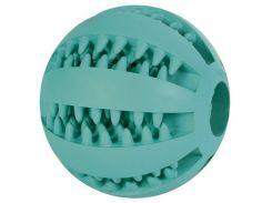 Trixie (Трикси) Игрушка для собак мяч для зубов бейсбольный с мятой DentaFun 5см