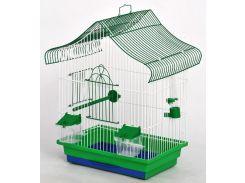 ЛОРИ Клетка для птиц Мини 1 цинк 330*230*450