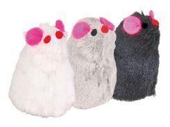 Trixie (Трикси) Игрушка для кошек мышки, плюш 8см