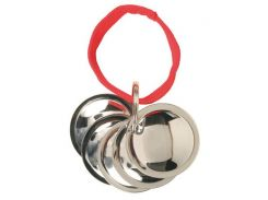 Trixie (Трикси) Диски для дрессировки собак, 5 металлических дисков на веревке 4,5см