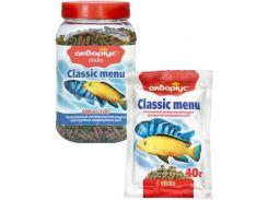 Корм для рыб палочки Classic Menu банка 150гр