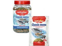 Корм для рыб чипсы Classic Menu 25гр