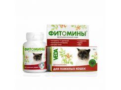 Фитомины для пожилых кошек Здоровое сердце 50гр