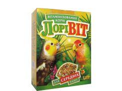 ЛОРИ Корм для средних попугаев Лоривит 1,5кг