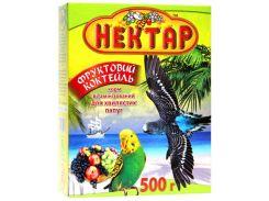 ЛОРИ Корм для волнистых попугаев Фруктовый коктейль Нектар 500гр