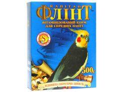 ЛОРИ Корм для средних попугаев с йодом Флинт 500гр