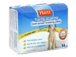 Hartz (Харц) Пеленки супер впитывающие - место для туалета Puppy Training Pads 14шт
