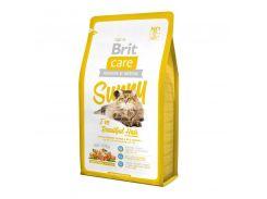 Brit (Брит) Сухой корм для здоровой кожи и шерсти кошек Brit Care Cat Sunny Beaut Hair 7кг