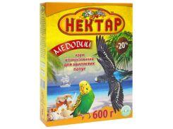ЛОРИ Корм для волнистых попугаев Медовый Нектар 600гр