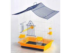ЛОРИ Клетка для птиц Мини 3 краска 330*230*470