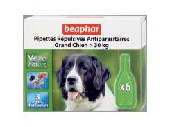 Beaphar (Беафар) Капли против блох для собак свыше 30кг Spot On БИО (6 пипеток)