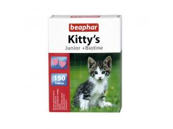 Beaphar (Беафар) Витаминизированное лакомство для кошек Kitty Junior 150таб