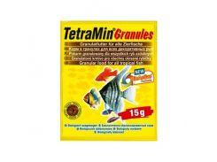 Тetra (Тетра) Основной корм для рыб в гранулах TetraMin 15гр