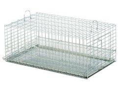 ЛОРИ Клетка для птиц Перепелка цинк 330*590*235