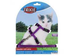 Trixie (Трикси)  Шлейка с поводком для котят, нейлон 19-31см 8мм