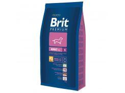 Brit (Брит) Полнорационный корм для взрослых собак маленьких пород до 10кг Brit Premium Adult S 8кг