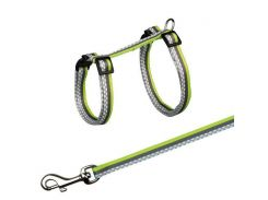 Trixie (Трикси) Поводок и шлея для кошек Freshline Sport 27-45см*10мм*1,20м