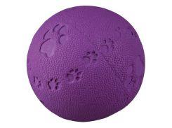 Trixie (Трикси) Игрушка для собак мяч с пищалкой, каучук 6см
