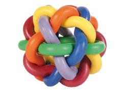 Trixie (Трикси) Игрушка для собак мяч плетеный, каучук 7см