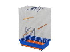 ЛОРИ Клетка для попугаев Нимфа цинк 470*300*660