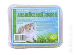 Травка для котов Альпийский лужок 80гр