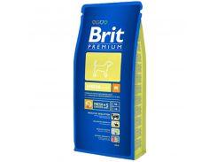 Brit (Брит) Полноценный корм для щенков и молодых собак 2-12мес средних пород 10-25кг Brit Premium Junior M 15кг